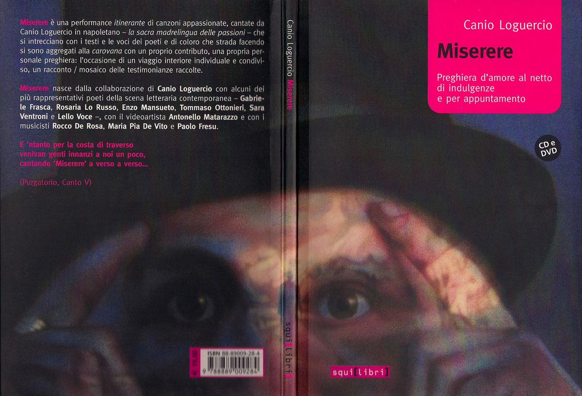 MISERERE, libro+cd+dvd, ed. Squilibri, Roma 2006