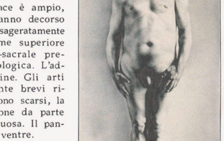 Tipico esemplare (serie Freaks), 1998