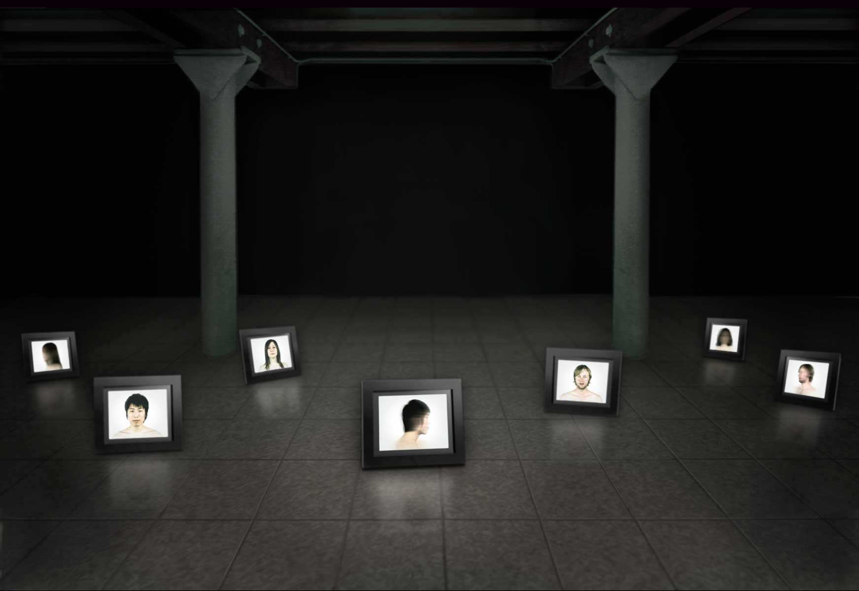 Motus, whatever we are…, 2009, installation project
